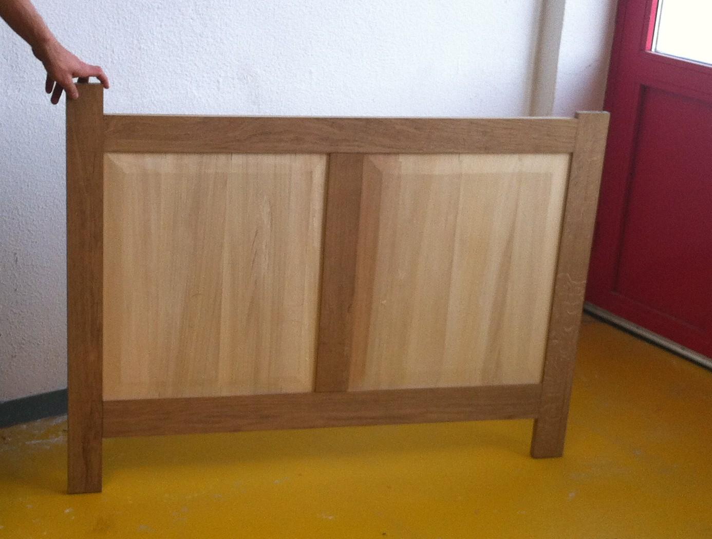Fond du meuble - assemblage à blanc