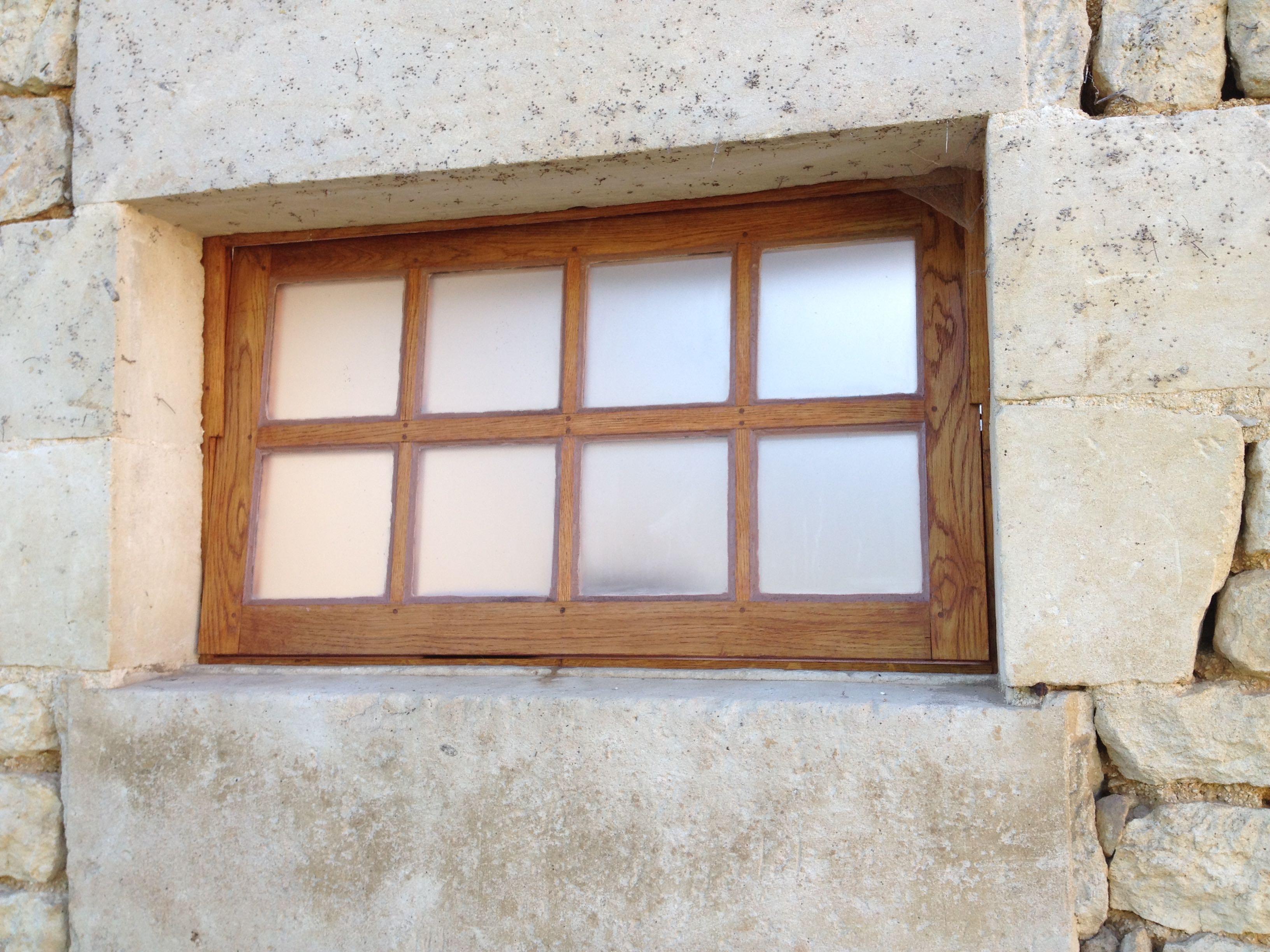 Fenêtre à bascule